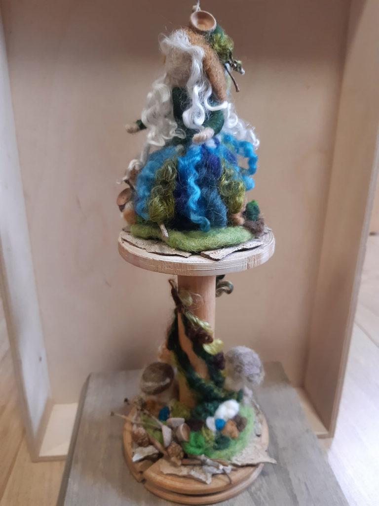 Blaue Waldfee