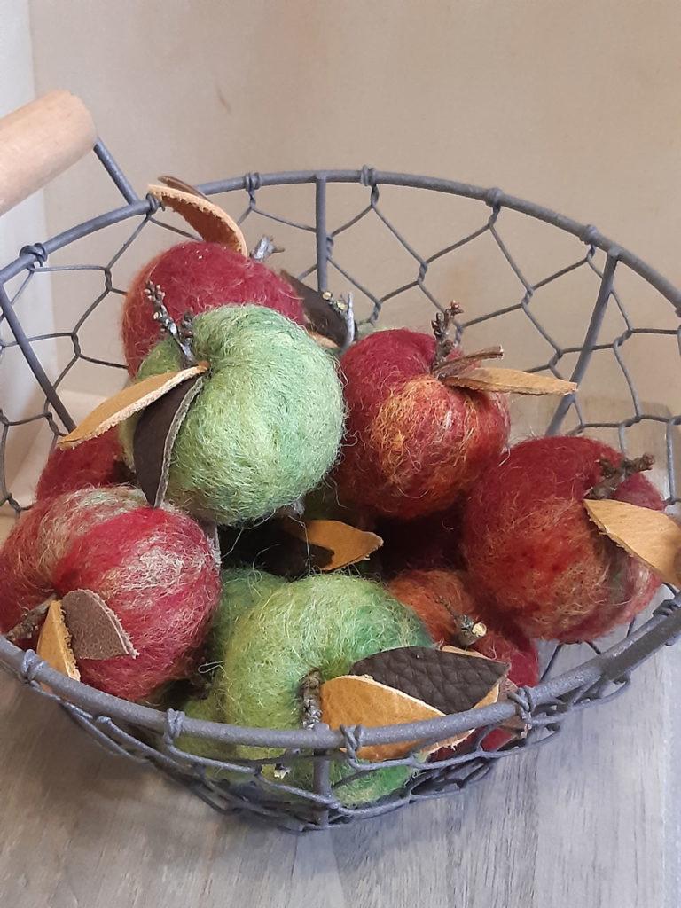 Kleine Äpfel