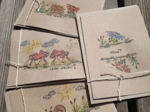 Recycling Karten-Set 1