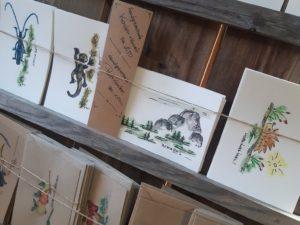 Handgezeichnete Karten